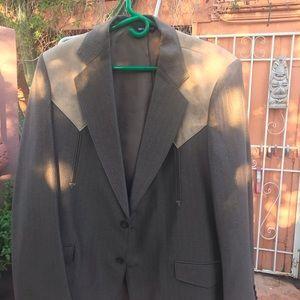 Other - Vintage Men's Western Suit Browns